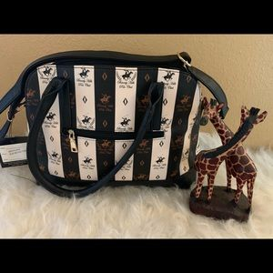 Beverly Hills Polo Club Large Purse